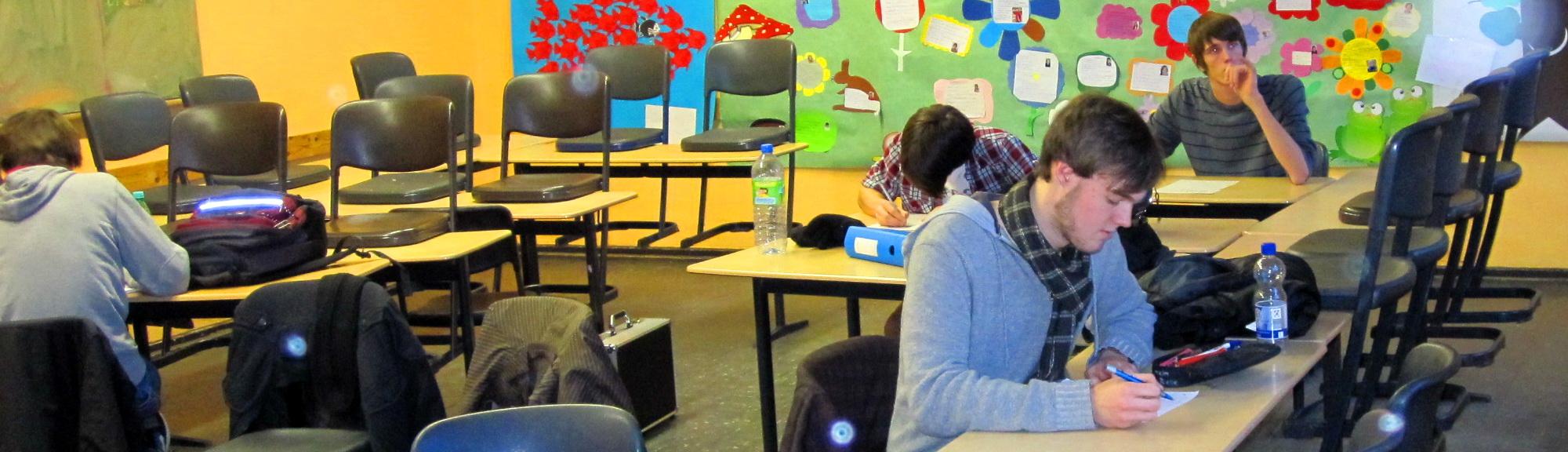 Präsentationstraining am Nelly Sachs Gymnasium Neuss
