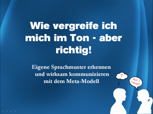 SPrachmuster Seminar
